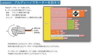 LESSON: servo motor and rotation sensor